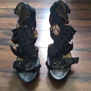 Black studded Michael Kors shoes